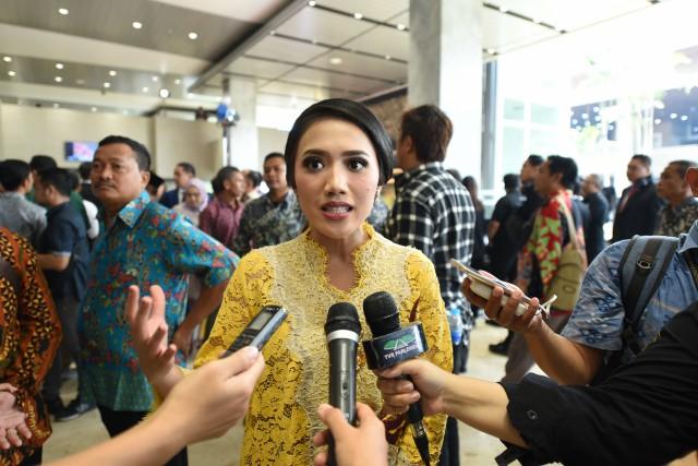 Puteri Komarudin: Perpres 63 Langkah Lestarikan Bahasa Indonesia