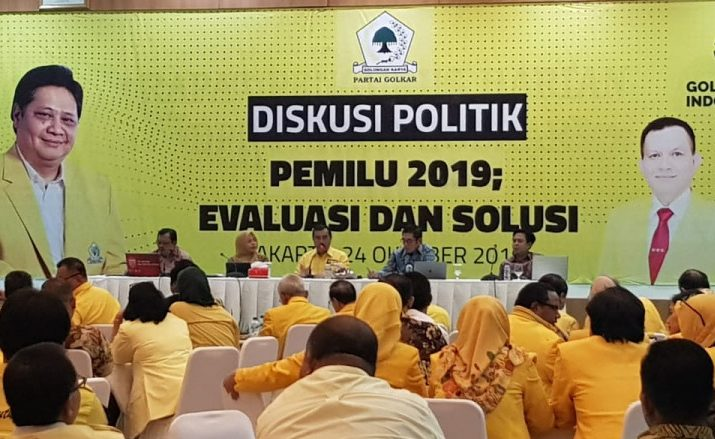 DPP Golkar Gelar Diskusi Politik Evaluasi dan Solusi Pemilu 2019