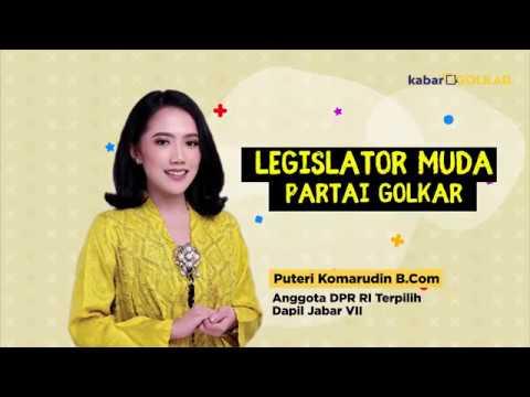 Puteri Komarudin Siap Perjuangkan Aspirasi Rakyat