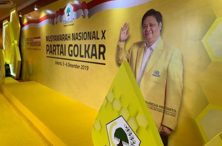 Presiden Jokowi akan Buka Munas Partai Golkar Malam ini