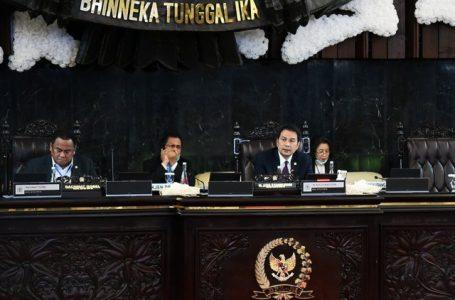 Fraksi-Fraksi DPR Sampaikan Pendapat RUU pada Rapat Paripurna