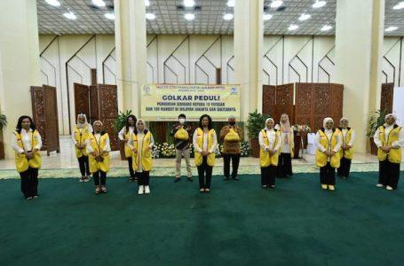 IIFPG Berikan Bantuan Sembako ke Yayasan dan Marbot Masjid