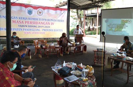 Kunker ke Pandeglang, Komisi II DPR RI Minta Pilkada Berjalan Adil