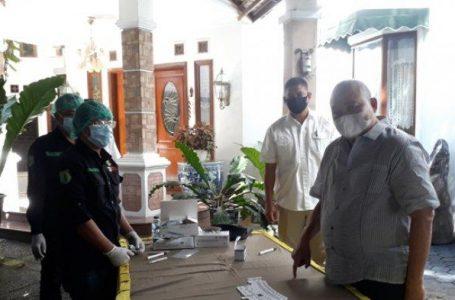 Anggota DPR RI H Alex Noerdin Gelar Rapid Test Gratis di Rumah Pribadi
