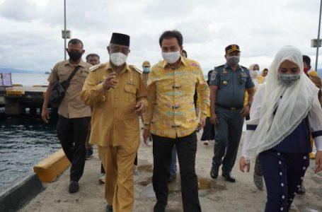 Wakil Ketua DPR Kunjungi Tidore, Wali Kota Minta Perjuangkan Pembangunan Jembatan Layang Temadore