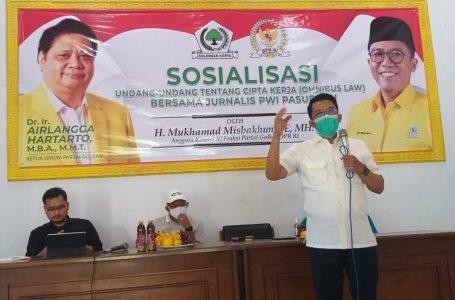 Polemik UU Omnibus Law, Misbakhun: Pemerintah Takkan Sengsarakan Rakyat