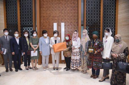 Kaukus Perempuan Parlemen Terima Delegasi Korea Selatan