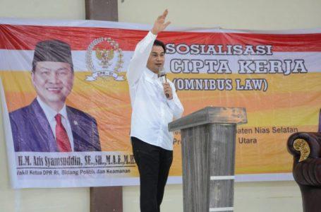 Azis Syamsuddin: UU Ciptaker Jawab Persoalan Bonus Demografi