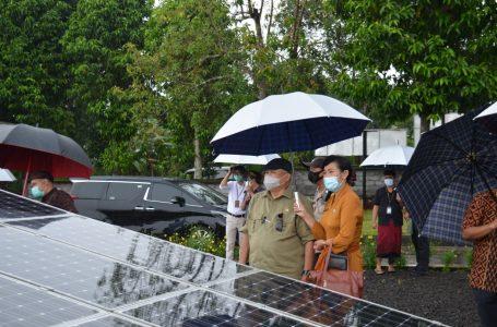 PLTS Bangli Jadi Salah Satu Rujukan Penyusunan RUU EBT