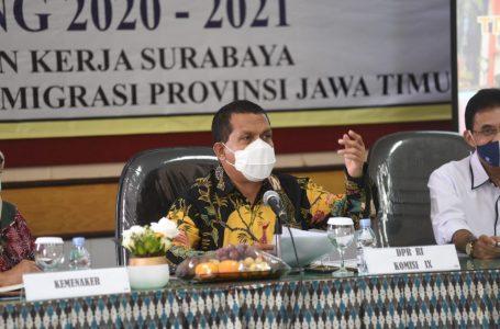 Komisi IX DPR RI Kunjungi BLK Surabaya
