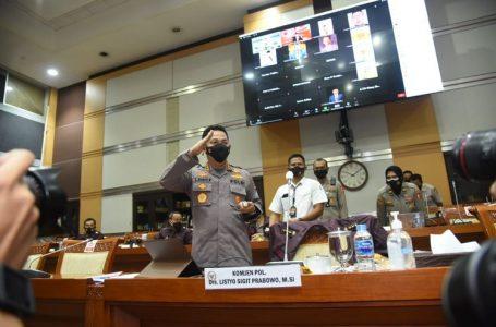 Komisi III Mufakat Setujui Listyo Sigit Prabowo Sebagai Kapolri