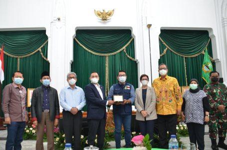 Ridwan Kamil Jabarkan Inovasi Pangan Jabar kepada Badan Legislasi DPR RI