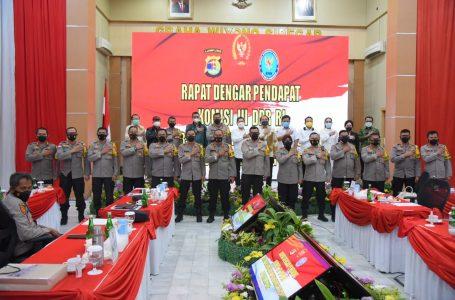Komisi III DPR RI apresiasi capaian Polda Lampung dalam penegakkan dan pengamanan Provinsi Lampung