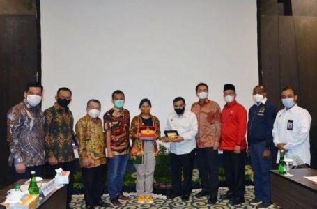 Komisi I DPR Dorong BINDA Lampung Perkuat Penanganan Covid-19 dan Program Vaksinasi
