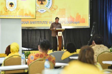 Airlangga Hartarto: Kader Golkar Harus Jadi Katalisator Perubahan