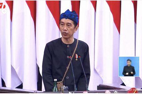 Pidato Kenegaraan, Jokowi: Kritik yang Membangun Itu Penting