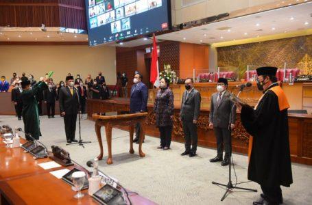 Paripurna DPR RI Tetapkan Lodewijk F. Paulus Sebagai Wakil Ketua DPR